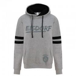 Hoody Eisdorf Grau/Schwarz