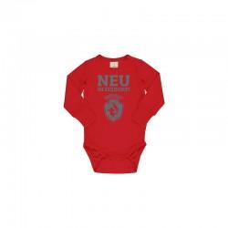 Baby Strampler Eisdorf Rot