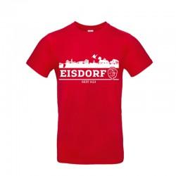 T-Shirt Skyline Eisdorf Rot