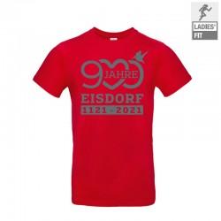 T-Shirt 900 Jahre Eisdorf Rot