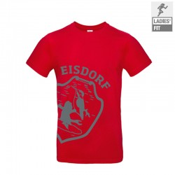 T-Shirt Eisdorf Logo Rot