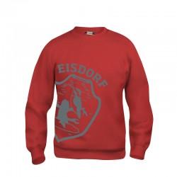 Sweat Eisdorf Logo Rot