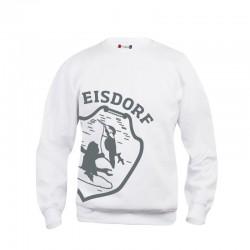 Sweat Eisdorf Logo Weiß