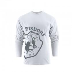 Longsleeve Eisdorf Logo Weiß